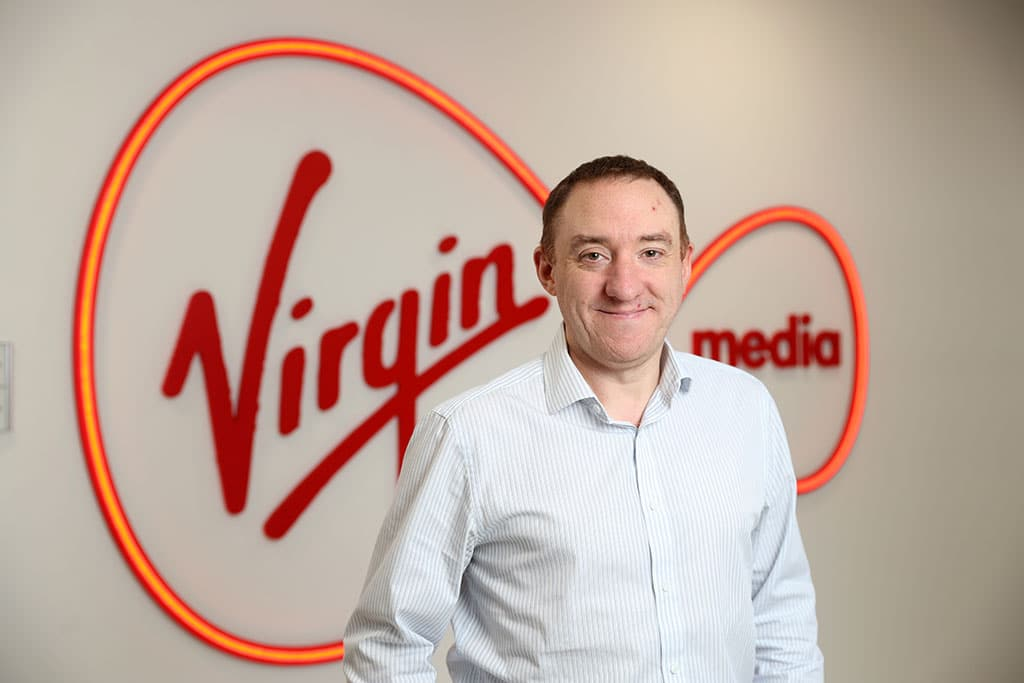 Paul Higgins Appointed as Vice-President of Commercial at Virgin Media