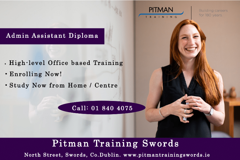 Admin Assistant Diploma at Pitman Training